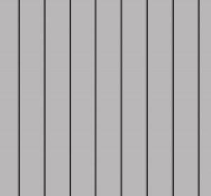 Сріблястий металік (RAL 9006) pvdf