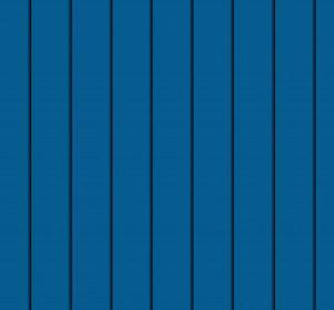 небесно синій pvdf