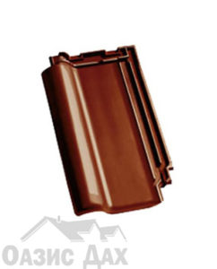 Глянцевый ангоб Миндально-коричневый