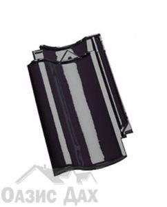 Чёрный глазурованный