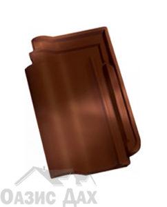 Чёрно-коричневый рустикальный