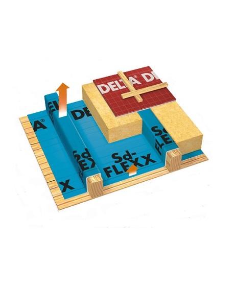 пароізоляційна плівка для реконструкції дахів