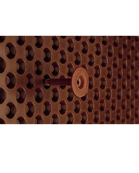 тарільчатий дюбель для дренажної мембрани