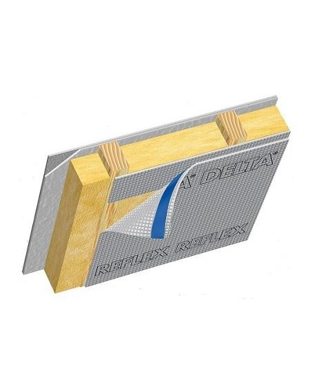 энергосберегающая плёнка с алюминиевым рефлекторным слоем